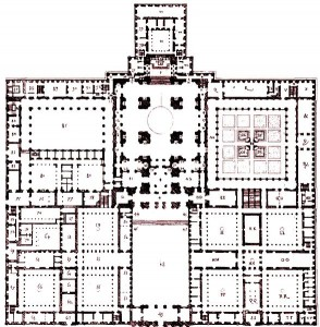 El Escorial Groundplan