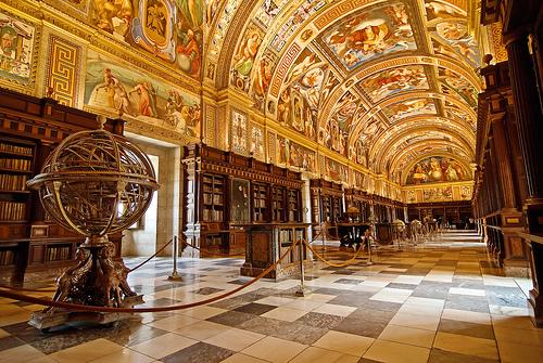 El Escorial The Royal Library
