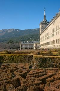 El Escorial palace gardens